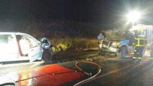 Seis personas heridas en un choque frontal en El Puerto de Santa María