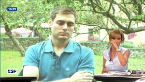 Susanna Griso no aguanta las lágrimas tras entrevistar al hermano de la golfista asesinada en Estados Unidos.