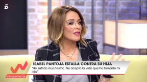 Toñi Moreno le dice a Diego Arrabal que acaba de hacer un comentario machista.