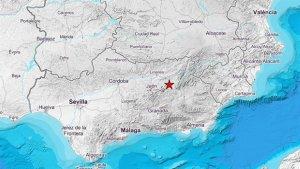 El terremoto de magnitud 4,2 tuvo como epicentro el municipio de Jódar, en la provincia de Jaén.