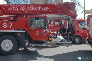 Imagen de archivo de los Bomberos de Zaragoza