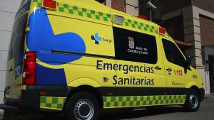 Imagen de archivo de una ambulancia de Emergencias Sanitarias-Sacyl