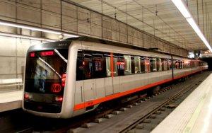 Imagen de archivo del metro de Bilbao.
