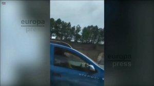 Una pareja fue pillada teniendo sexo al volante en la AP-6.