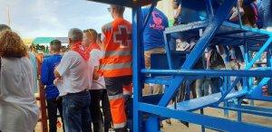 Una vaquilla se escapa de unos festejos en Badajoz y deja 16 heridos