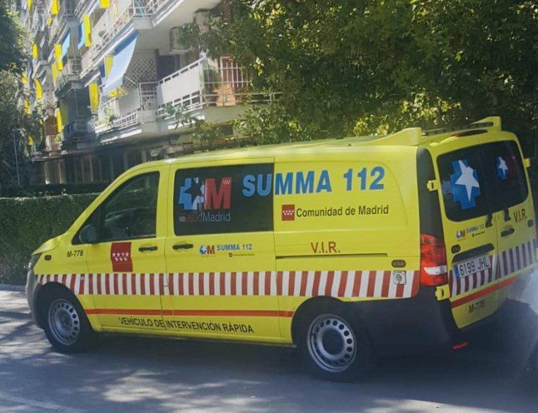 Un varón de 49 años sufre un corte profundo con una radial en Alcalá de Henares, Madrid