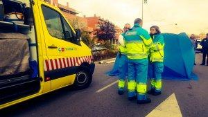 El equipo sanitario no ha podido hacer nada por salvar la vida de la mujer atropellada