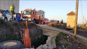 Imagen de uno de los accidentes registrados.