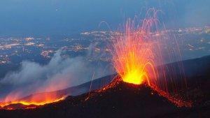 Imagen del volcán Etna