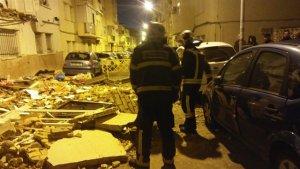 Se desploman 2 balcones en Jerez de la Frontera (Cádiz)