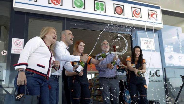 Imagen de la celebración del premio.
