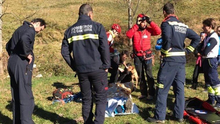 Imagen del rescate que se ha llevado a cabo.