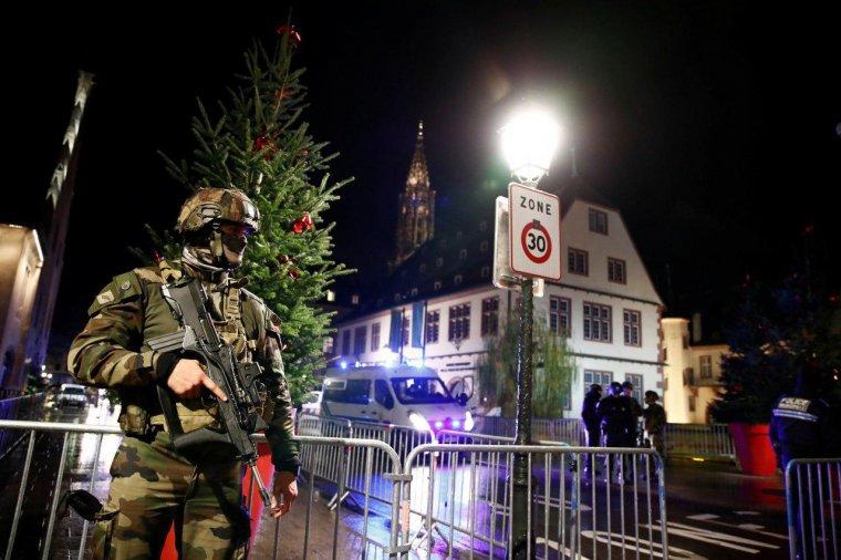 Las fuerzas de seguridad y de orden de Francia están en alerta máxima tras el atentado en Estrasburgo