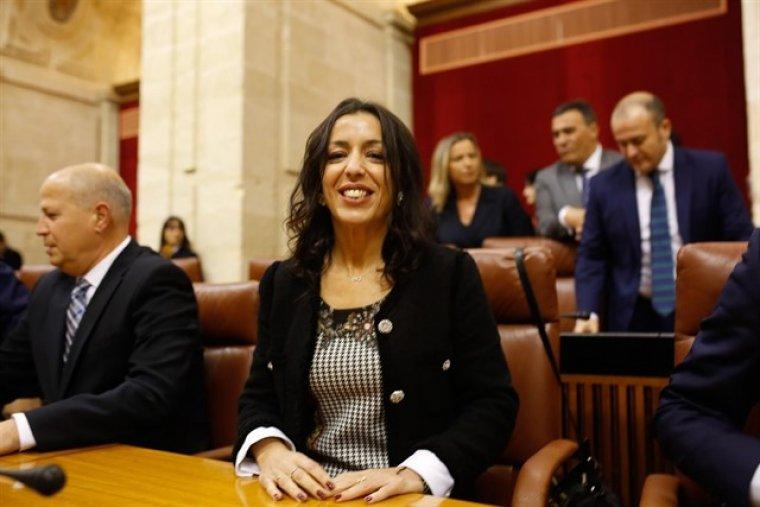 Marta Bosquet, nueva presidenta del Parlamento de la Junta de Andalucía