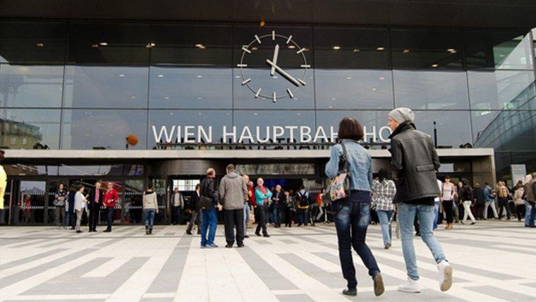 La Estación Central de Viena, lugar en el que se llevó a cabo la tragedia