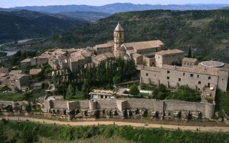 Roda de Isábena, en Huesca.