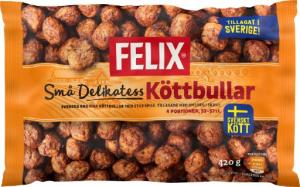 Albóndigas congeladas de la marca sueca Felix