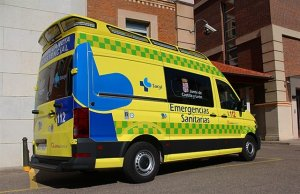 Ambulancia del 112 de Castilla y León