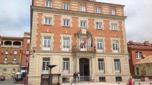 Imagen de archivo de la Audiencia Provincial de Palencia.