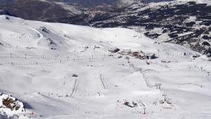 Imagen de archivo de la estación de esquí de Sierra Nevada.