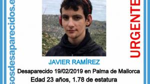 Imagen del desaparecido en Palma de Mallorca