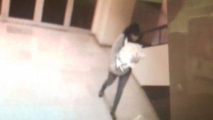 Imagen de la mujer que había robado el bebé.