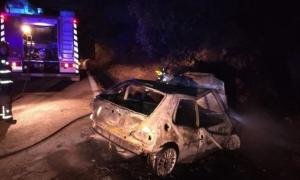 Imagen del estado del vehículo tras el accidente.