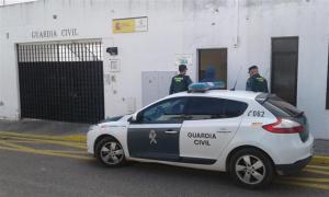 La Guardia Civil ha detenido a uno de los tres responsables del robo