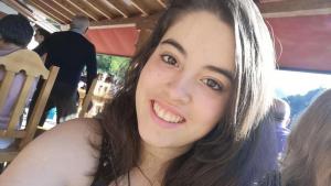 Imagen de Natalia, la menor de 17 años desaparecida.