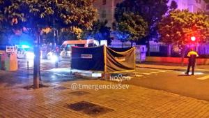 Una mujer fue presuntamente atropellada en Sevilla