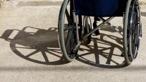 Eugenio perdió sus dos piernas el verano de 2017