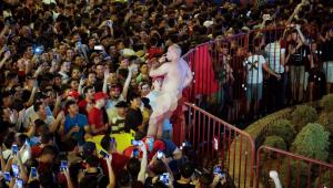 Imagen del seguidor inglés detenido por la Policía de Madrid.