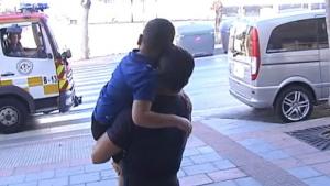 Benjamín tenía cáncer cerebral y podía salir de casa gracias a la ayuda de los Bomberos de Marbella