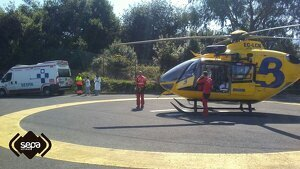 Helicóptero del SEPA Asturias