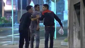 Los jóvenes de la 'Manada de Bilbao' puestos en libertad.