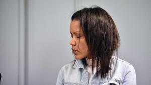 Ana Julia durante el juicio por el que se le acusa de asesinato
