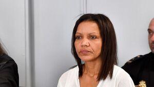 Ana Julia Quezada en el primer día de juicio por la muerte de Gabriel