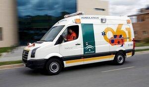 Ambulancia del 061 de Andalucía