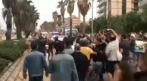 Imagen de la agresión a un Mosso d'Esquadra