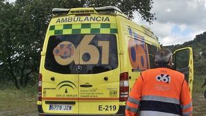 Ambulancia del 061 Andalucía