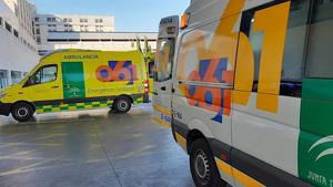 Ambulancia del 061 Emergencias Sanitarias Andalucía
