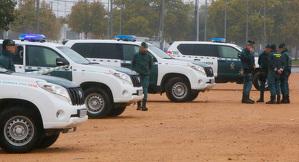 Coches patrulla de la Guardia Civil
