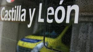 Imagen de una ambuláncia de Castilla y León