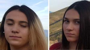Imagen de las dos hermanas desaparecidas en Collado de Villalba