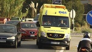 Las asistencias tuvieron que excarcelar a la víctima del interior de su vehículo