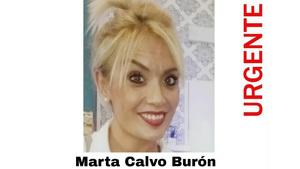 Marta Calvo Burón, desaparecida en Valencia