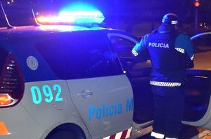 Un agente de la policía municipal de Valladolid.
