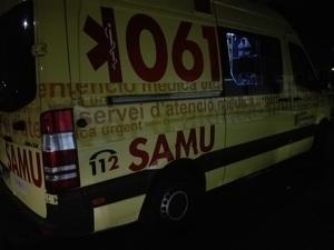 Ambulancia del SAMU 061 Baleares