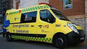 Vehículo de Emergencias Sanitarias de Castilla y León