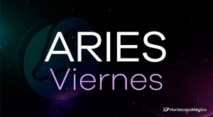 Horóscopo Aries Viernes